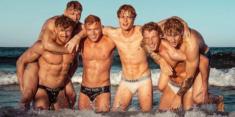 Red Hot European Boys 2020 Calendar Launch tickets