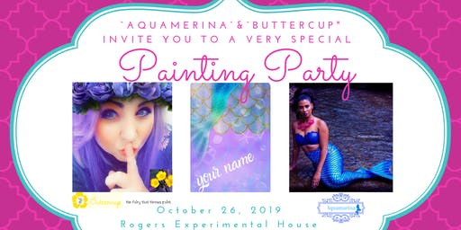 Fairy Special Painting Party
