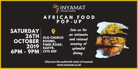 Inyamat   African Food Pop-up tickets