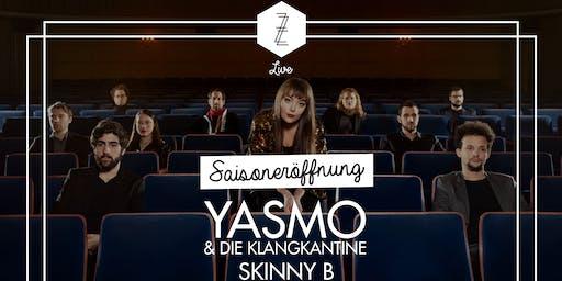 Saisoneröffnung mit Yasmo & die Klangkantine + Skinny B