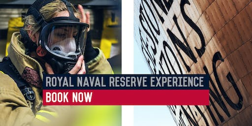 Royal Naval Reserve Experience - HMS Cambria, Cardiff - 23/10/2019