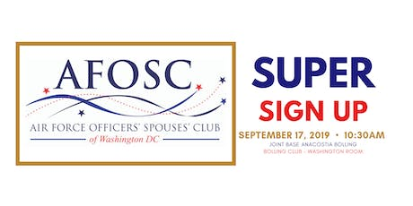 AFOSC of DC - Super Sign Up tickets