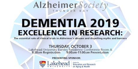 Dementia 2019 Excellence in Research tickets