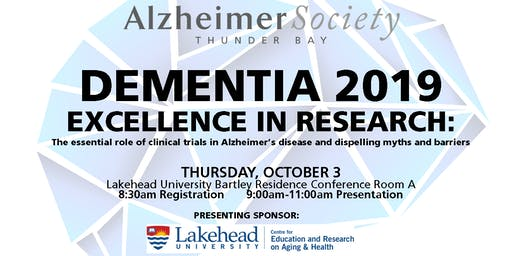 Dementia 2019 Excellence in Research