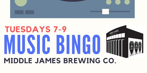 MUSIC BINGO! at MIDDLE JAMES BREWING CO. - PINEVILLE