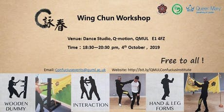 Chinese Kongfu(Wingchun) Workshop tickets
