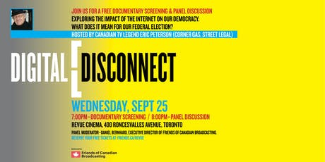 Digital Disconnect - Canadian Sovereignty in the Internet Age tickets