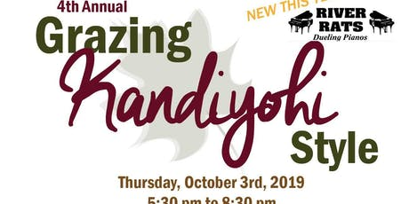 4th Annual Grazing Kandiyohi Style - Project Turnabout tickets