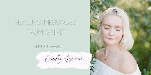 Copy of Healing Messages from Spirit: An Online Event