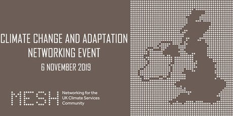 Mesh climate change and adaptation networking event tickets