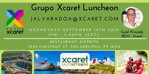Grupo Xcaret @ Philly - Travel Agents Luncheon