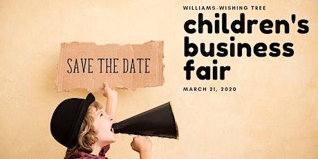 Children's Business Fair 2020 tickets
