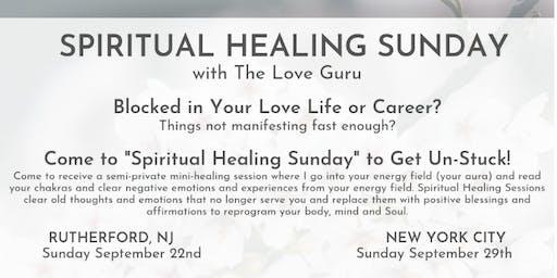 Spiritual Healing Sunday with The Love Guru in East Rutherford