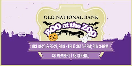Boo at the Zoo presented by Old National Bank 2019 tickets