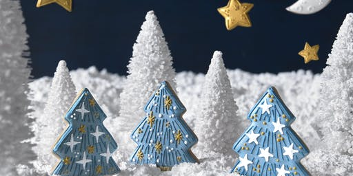 Biscuiteers School of Icing - Merry and Bright - Northcote Road