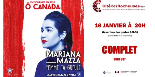 Mariana Mazza : Calgary