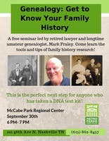 Genealogy: Get to Know Your Family History