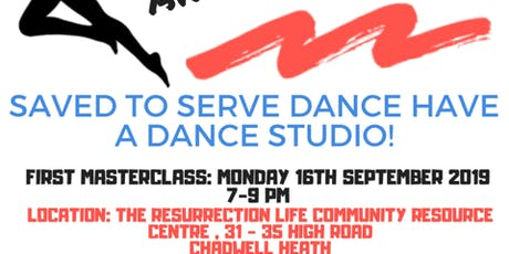 Saved to Serve Dance class!  RE-LAUNCH tickets