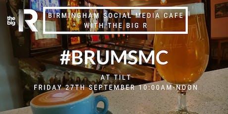 Birmingham Social Media Cafe at Tilt with the Big R Social tickets