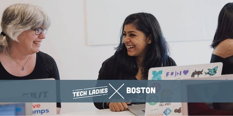 Tech Ladies Boston: CSS Flexbox/Grid Workshop tickets