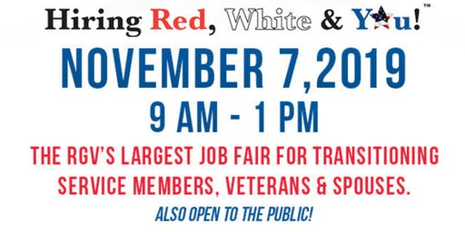 2019 Hiring Red White & You!