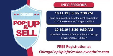 Chicago Pop Up & Sell License (Information Sessions) tickets