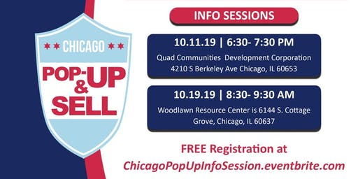 Chicago Pop Up & Sell License (Information Sessions)