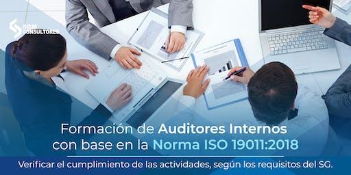 Curso Formación de Auditores con base a la Norma ISO 19011:2018 - MTY