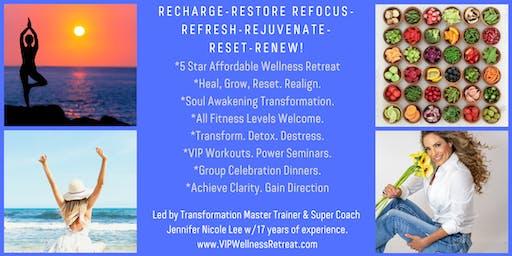 VIP Wellness & Fun Fitness Retreat!Recharge & Realign Your Mind Body Spirit