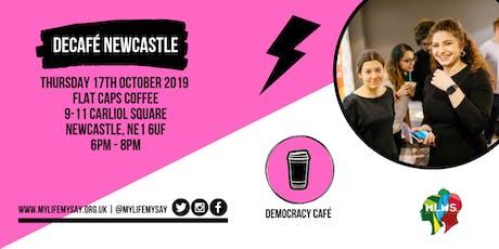 Democracy Cafe: Newcastle tickets