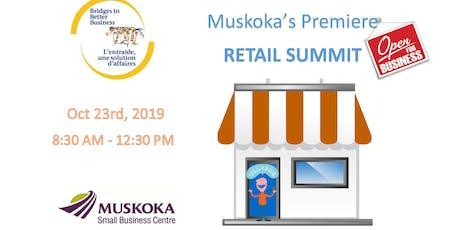 Muskoka's Premiere RETAIL SUMMIT tickets