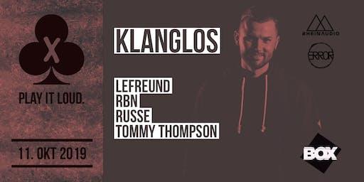 Play it Loud. w/ Klanglos