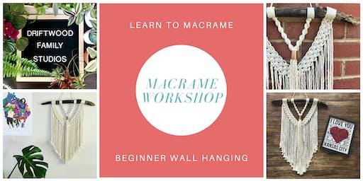 Beginner Macrame Workshop