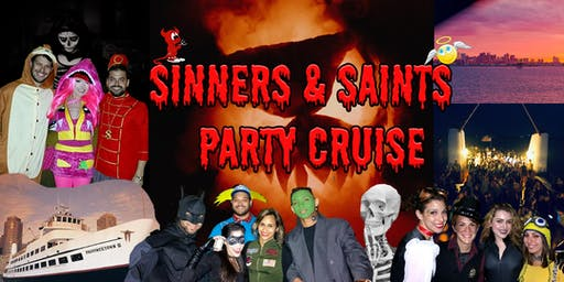 Sinners & Saints Halloween Cruise with Fast Times Band (50% off today with code SNS)
