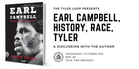 A new book on Earl Campbell and Tyler: discussion with the author tickets