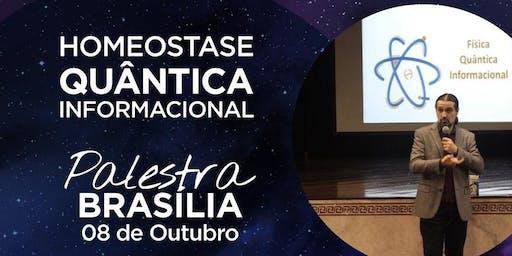 HOMEOSTASE QUÂNTICA INFORMACIONAL - BRASÍLIA