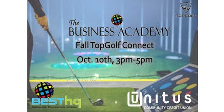 BESThq's Business Academy:  Fall TopGolf Connect tickets