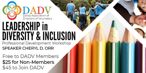 LEADERSHIP in DIVERSITY & INCLUSION