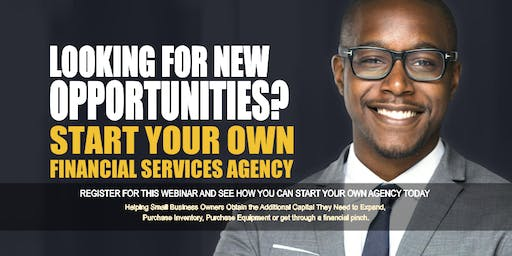 Start your Own Financial Services Agency in Atlanta, GA