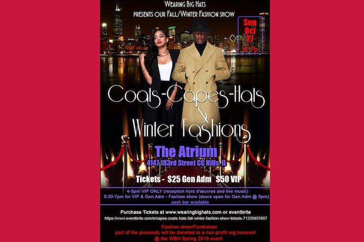 Capes-Coats-Hats Fall Winter Fashion Show
