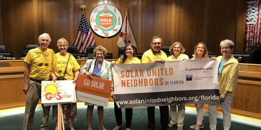 Polk County Solar Celebration