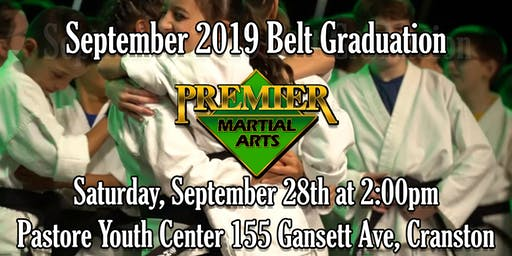 Premier Martial Arts: September Graduation