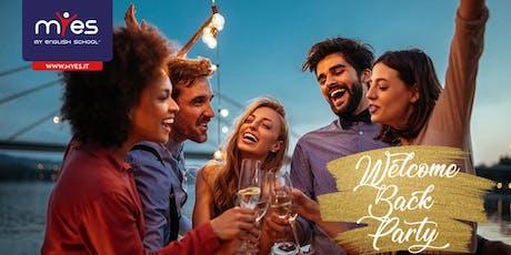 Welcome Back Aperitif- Speed Dating  biglietti