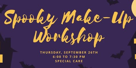 Spooky Make-Up Workshop at Special Care tickets