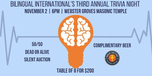 Third Annual Bilingual International Trivia Night