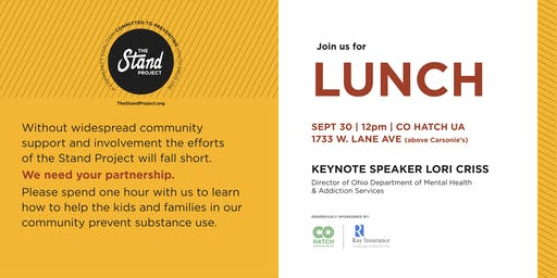 The Stand Project Community Engagement Luncheon