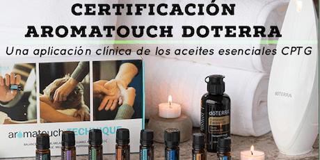 Certificación AromaTouch doTERRA tickets