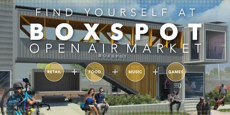 BOXSPOT Open Air Market tickets