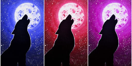 """Kids Open Paint (8yr+) """"Howl"""" Select your favorite color"""
