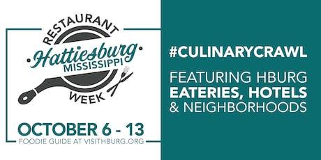 Hattiesburg Restaurant Week 2019 tickets
